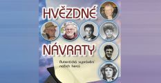 Vychází kniha o českých hercích Hvězdné návraty