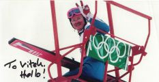 """Eddie """"The Eagle"""" Edwards: It´s not important to win but take part and enjoy it"""