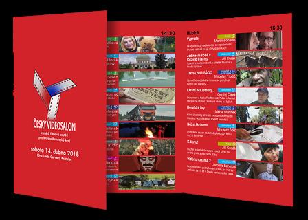 Program krajské filmové soutěže Český videosalon 2018