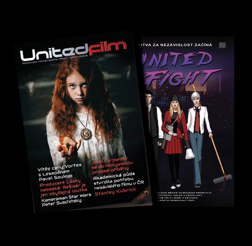 Ročenka Unitedfilm 2017 titul s komiksem