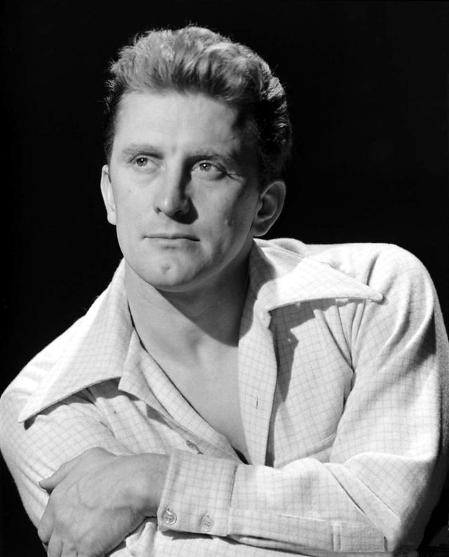 Young Kirk Douglas 1940s and 1950s 13