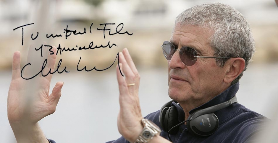 Claude Lelouch: I love filming life, I never know where will story move.