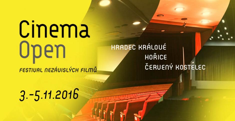 Cinema Open 2016 premi�rov� ve t�ech m�stech