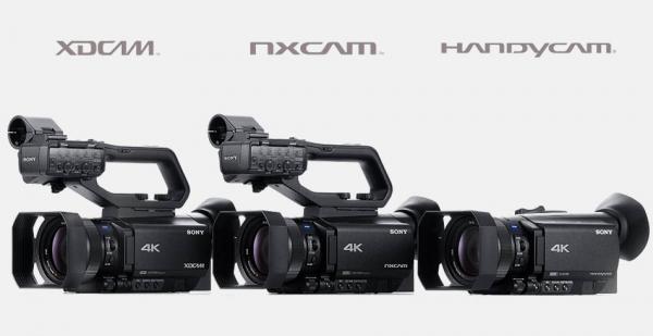 Nová řada kompaktních kamer Sony 4K HDR
